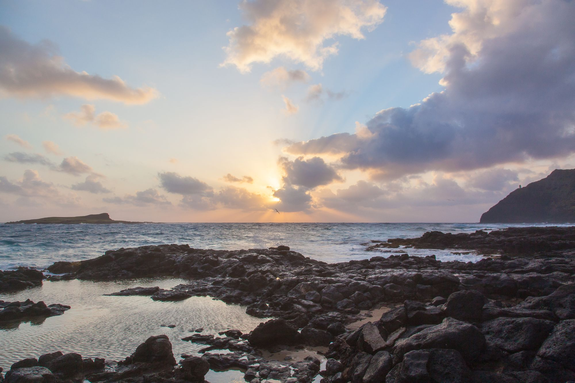 Sunrise at Makapu'u Beach Park