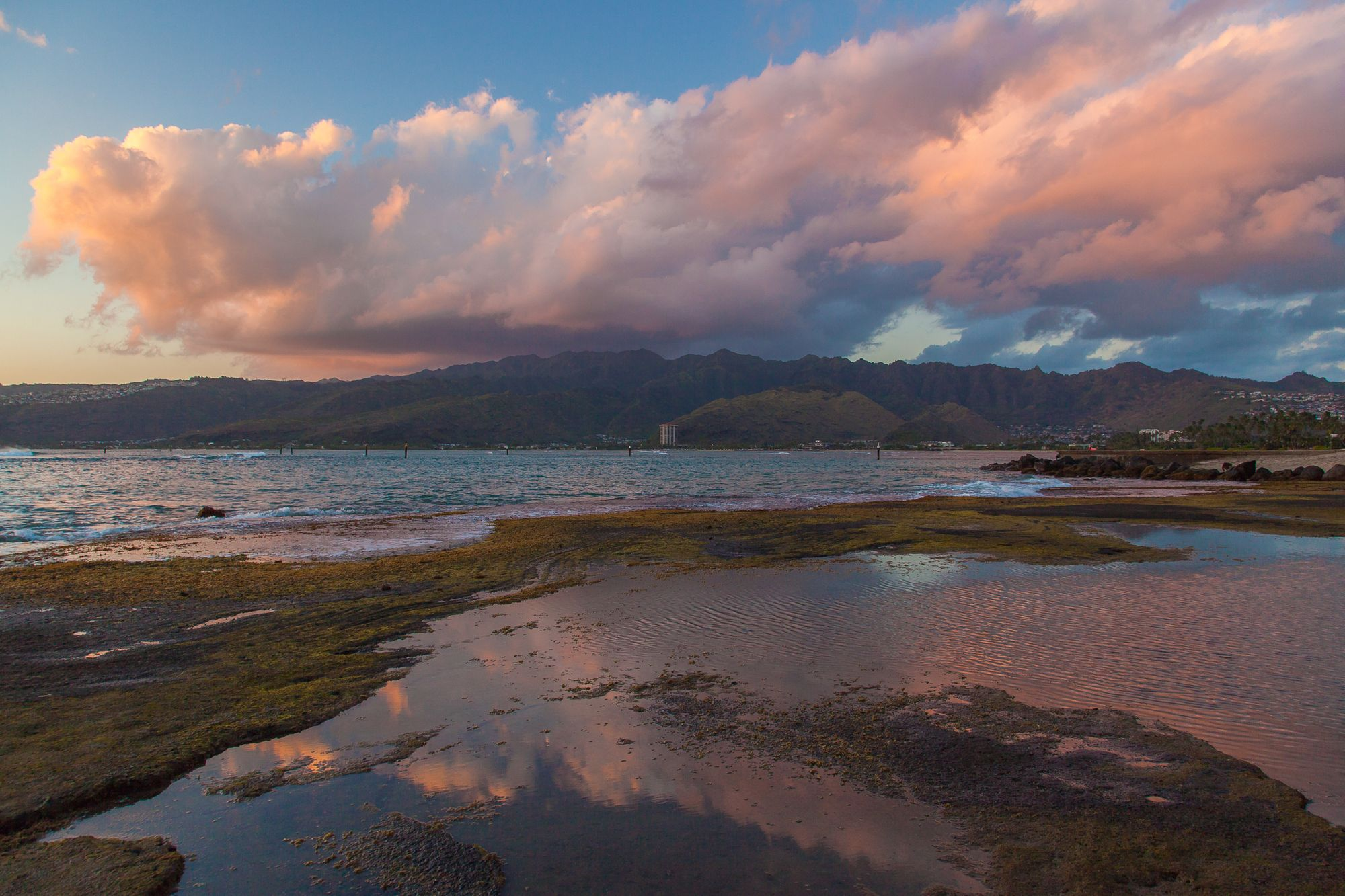 Painted Clouds Over The Ko'olau Range